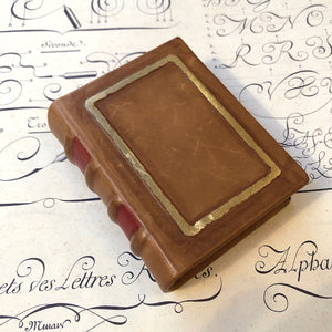 Leather notebook Small  / 革のカバーノート  小