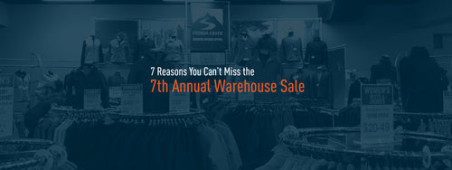 7 Reasons You Can't Miss the 7th Annual Warehouse Sale