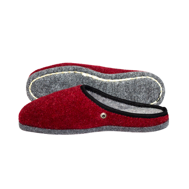 Wine Red | Felt - The Pantoffel