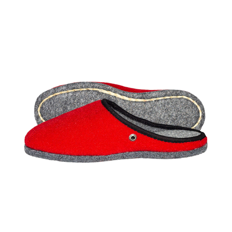 Royal Red | Felt - The Pantoffel