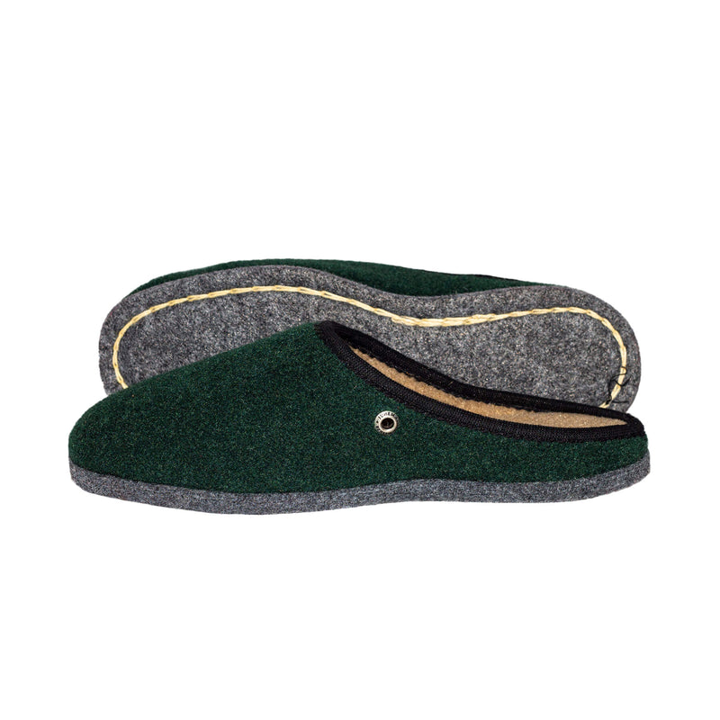 Jungle Green | Felt - The Pantoffel