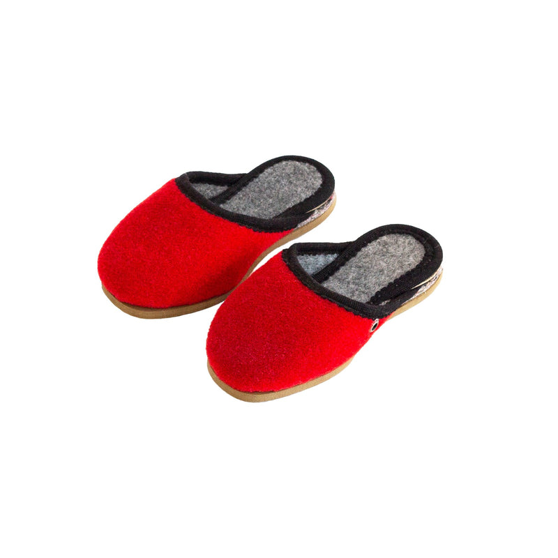Royal Red | Kids - The Pantoffel