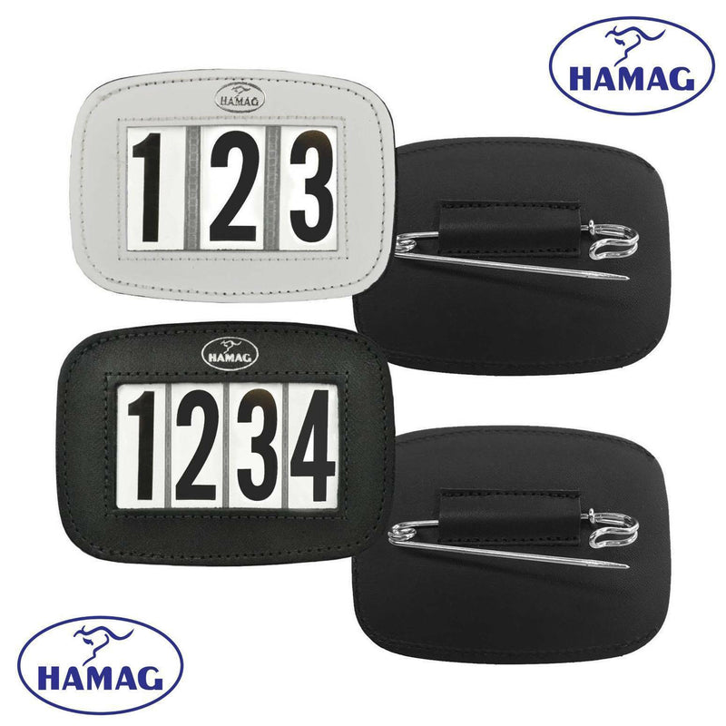 HAMAG LEATHER S/CLOTH NUMBER HOLDER 3DGT