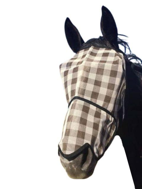 RIVIERA FLY MASK WITH  NOSE COVER