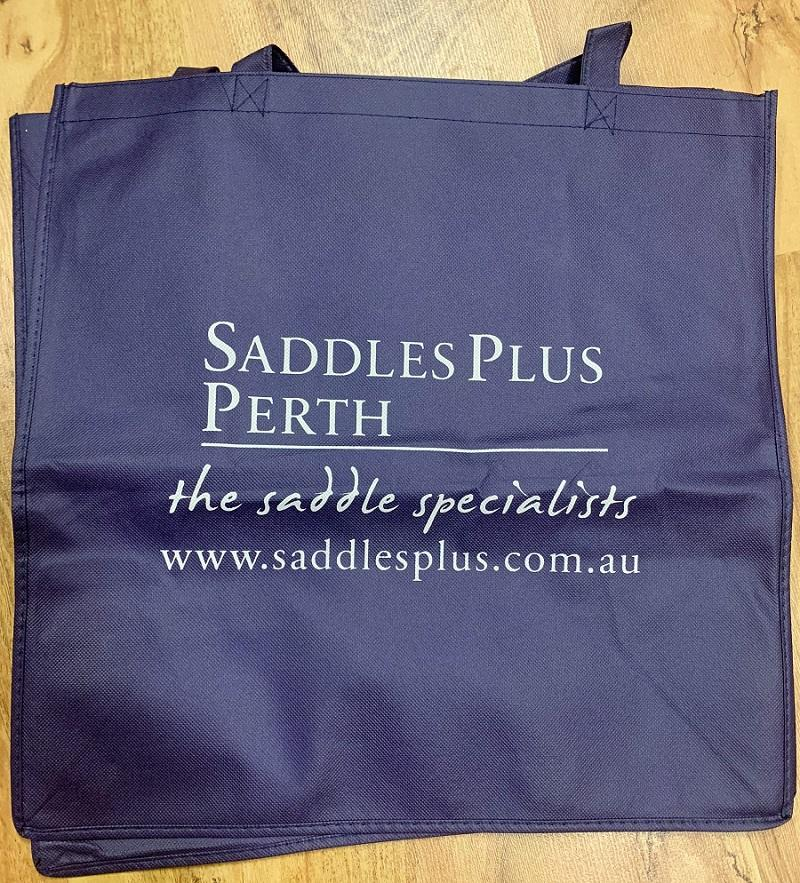 SADDLES PLUS SHOPPING BAGS