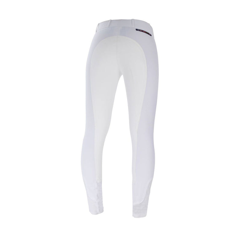 HORZE GRAND PRIX SUEDE SEAT BREECH WHITE