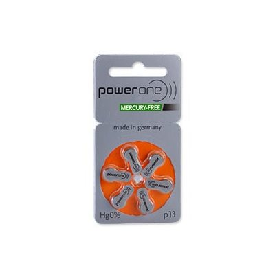 PowerOne MF Batteries Size 13 - Pack of 8
