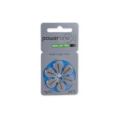PowerOne MF Batteries Size 675 - Pack of 4