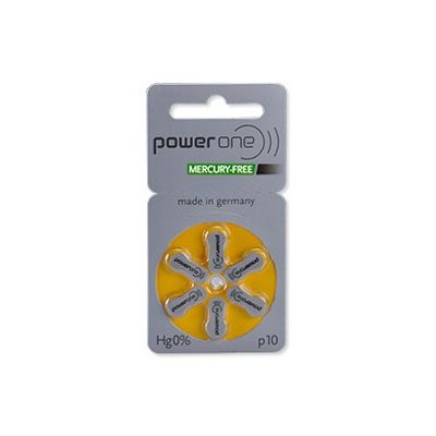 PowerOne MF Batteries Size 10 - Pack of 8