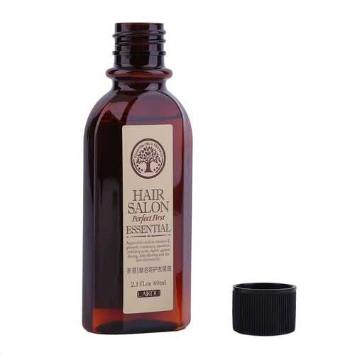 LAIKOU 60ml Moroccan Pure Argan Oil Hair Essence for Dry Scalp Hairs Treatment