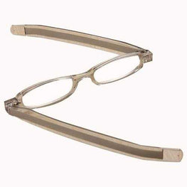 Silver 360 Degree Rotation Rotating Folding Presbyopic Reading Glasses Strength 1.0 1.5 2.0 2.5 3.0 3.5