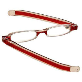 Red 360 Degree Rotation Rotating Folding Presbyopic Reading Glasses Strength 1.0 1.5 2.0 2.5 3.0 3.5