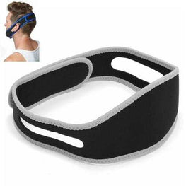 Gray Pink Anti Snoring Snore Stopper Chin Jaw Strap Supporter Sleep Improving Belt Brace