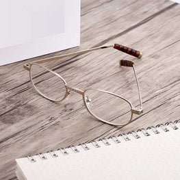 SHUAIDI Hand-carved Portable Resin Reading Glasses 8806