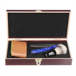 Barber Shaving Kit Set Straight Razor Shaving Brush Strap