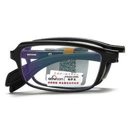 KCASA Portable TR90 HD Resin Folding Reading Glasses