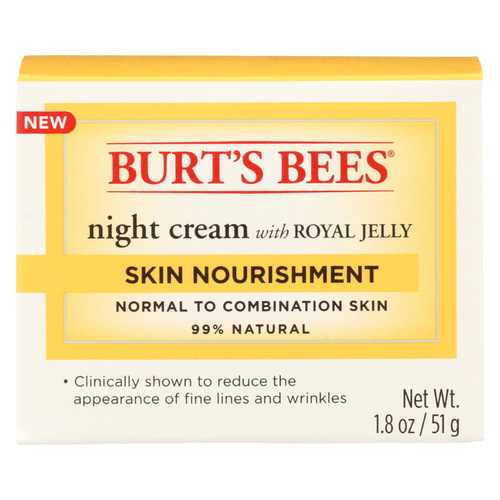 Burts Bees Night Cream - Skin Nourish - 1.8 oz