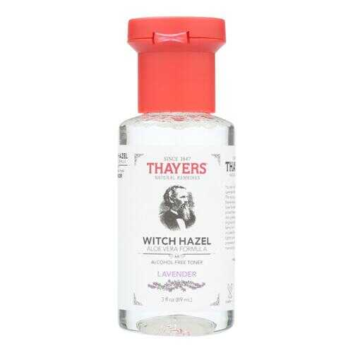 Thayers Witch Hazel Astringent - Lavender - Case of 24 - 3 fl oz