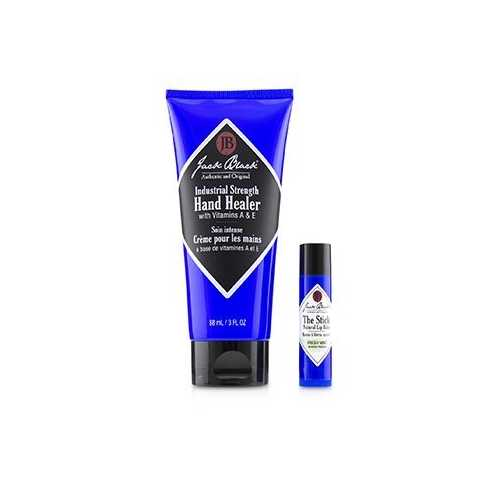 Comfort & Joy Duo: Industrial Strength Healer + The Stick Natural Lip Balm - Fresh Mint  2pcs
