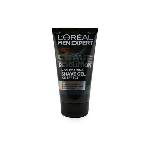 Men Expert Shave Revolution Non Foaming Shave Gel (Ice Effect)  150ml/5.29oz