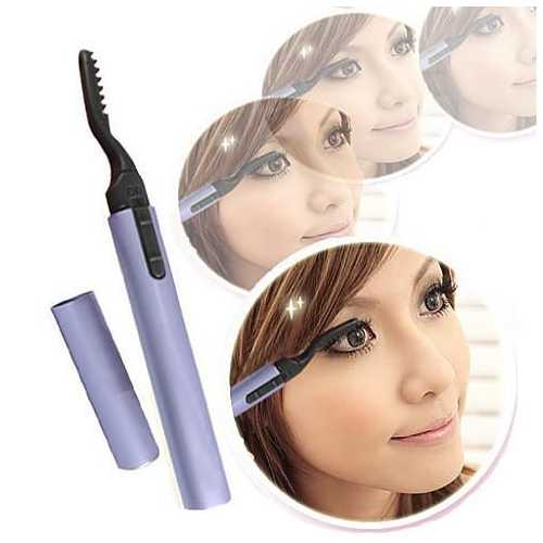 Lovely Lash Portable Heated Eyelash Curler For Instant Curvy lashes