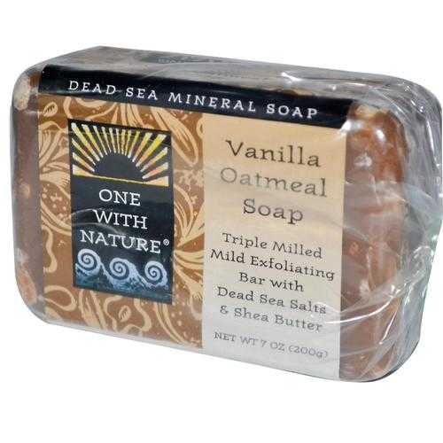 One With Nature Vanilla Oatmeal Soap (1x7 Oz)