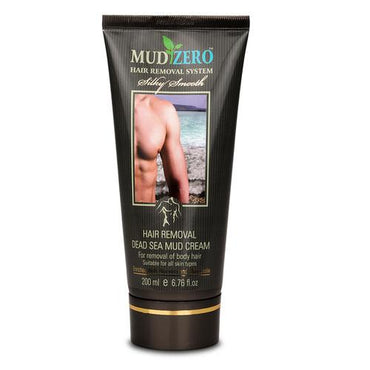 MudZero Dead Sea Hair Removal Cream for Men 200ml