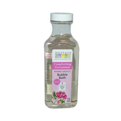 Aura Cacia Comforting Geranium Heart Song Bubble Bath (1x13 Oz)