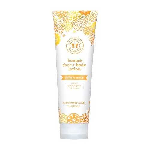 The Honest Company Face and Body Lotion Gentle Sweet Orange Vanilla  (1x8.5 OZ)