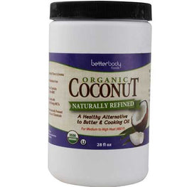 Better Body Foods Coconut Oil, Naturally Refined (6x28 OZ)