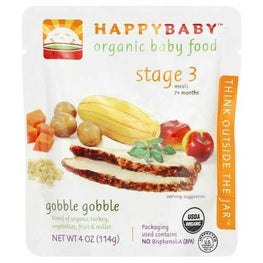 Happy Baby Gobble Gobble S3 (16x4OZ )
