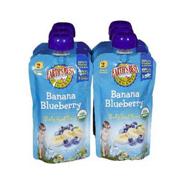 Earth's Best Baby Foods Puree Ban BluBerry (12x4OZ )