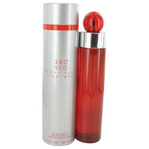 Perry Ellis 360 Red By Perry Ellis Eau De Toilette Spray 6.7 Oz For Men