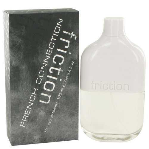 Fcuk Friction By French Connection Eau De Toilette Spray 3.4 Oz For Men