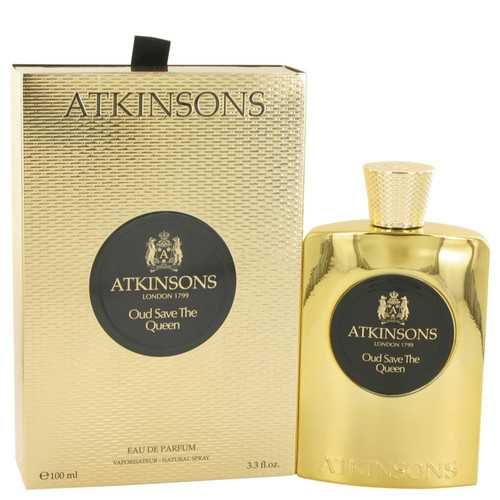 Oud Save The Queen By Atkinsons Eau De Parfum Spray 3.3 Oz For Women