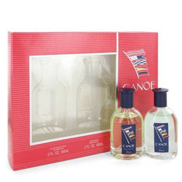 Canoe By Dana Gift Set -- 2 Oz Eau De Toilette Spray + 2 Oz After Shave For Men