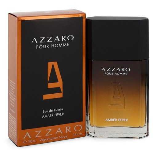 Azzaro Amber Fever By Azzaro Eau De Toilette Spray 3.4 Oz For Men