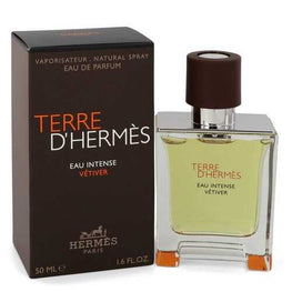 Terre D'hermes Eau Intense Vetiver By Hermes Eau De Parfum Spray 1.7 Oz For Men