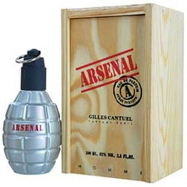 Arsenal Grey Eau De Parfum Spray 3.4 Oz For Men