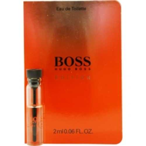Boss In Motion Black Edt Vial On Card For Men