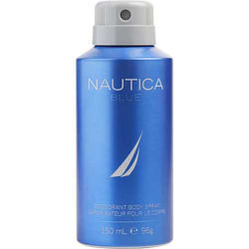 Nautica Blue Deodorant Body Spray 5 Oz For Men