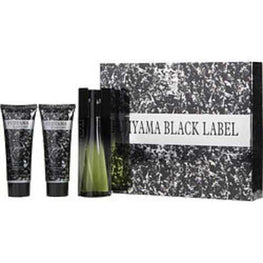 Fujiyama Black Label Edt Spray 3.3 Oz and Aftershave Balm 3.3 Oz and Shower Gel 3.3 Oz For Men