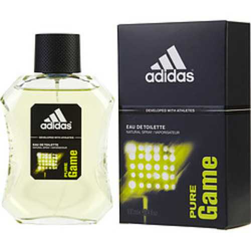 Adidas Pure Game Edt Spray 3.4 Oz (developed With Athletes) For Men