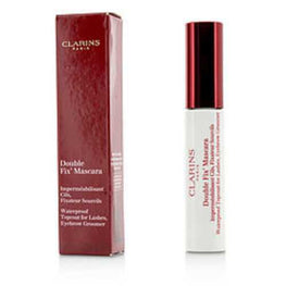 Clarins Double Fix Mascara (waterproof Topcoat For Lashes, Eyebrow Groomer) --7ml/0.2oz For Women