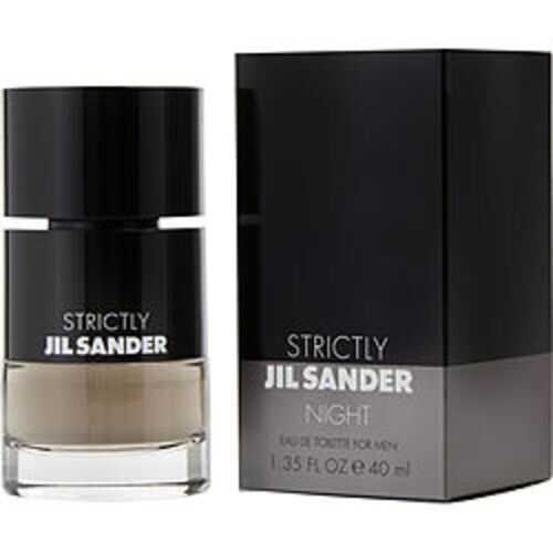 Jil Sander Strictly Night Edt Spray 1.35 Oz For Men