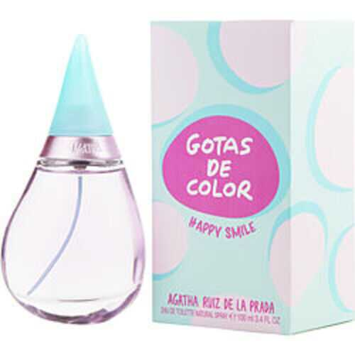 Agatha Ruiz De La Prada Gotas De Color Happy Smile Edt Spray 3.4 Oz For Women