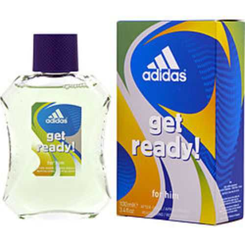 Adidas Get Ready After Shave 3.3 Oz For Men