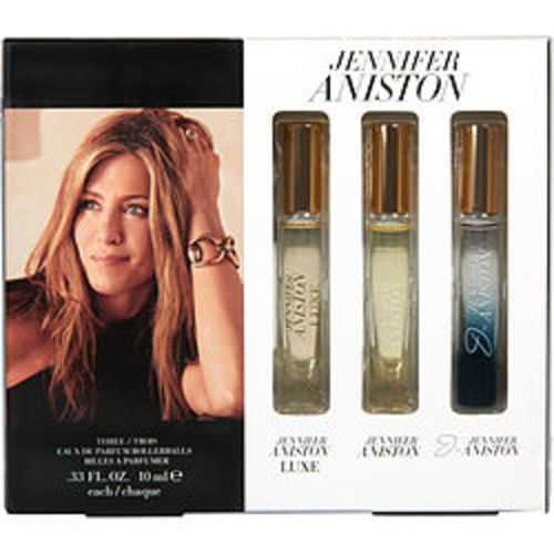 Jennifer Aniston Variety 3 Piece Set With Jennifer Aniston and J By Jennifer Aniston and Jennifer Aniston Luxe And All Are Eau De Parfum Rollerball .33 Oz For Women