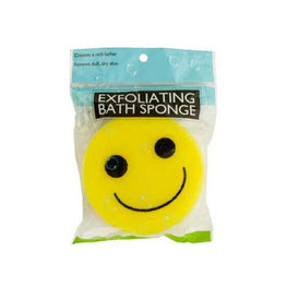 Emoticon Bath Sponge ( Case of 60 )