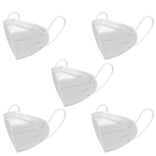 5 Piece KN95 Filtration Cotton Mouth Masks